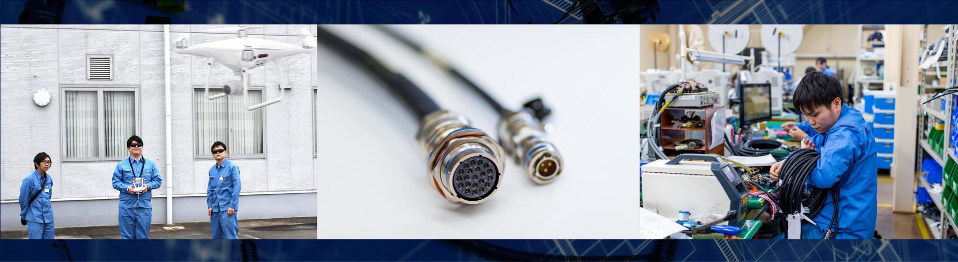信頼と実績に裏付けられた技術力で、 高品質な製品をお届けいたします。