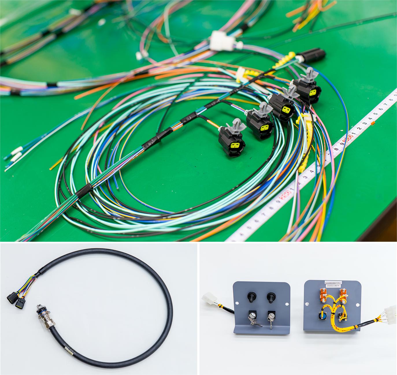 表示盤、LED表示器、配線副資材