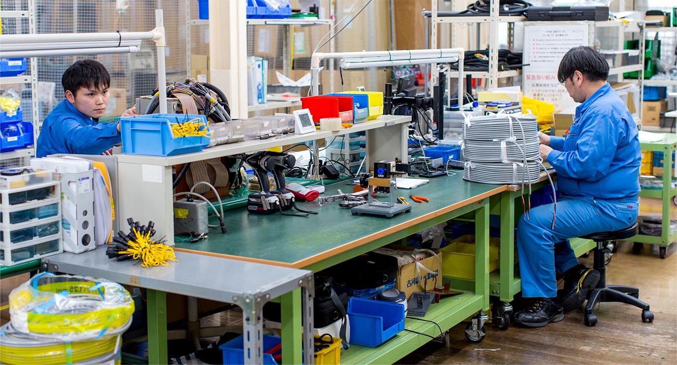 プロの熟練職人による高品質な製品を提供