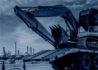 建設機械の改造工事(サービス提供)